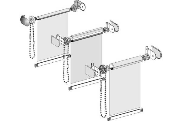 Изготовление и установка жалюзи, рулонных штор 1