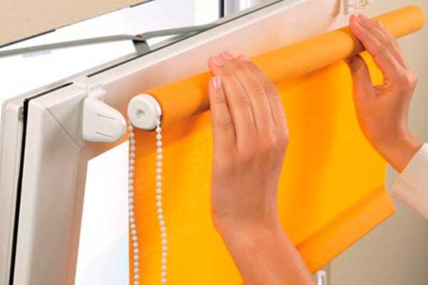 Изготовление и установка жалюзи, рулонных штор 2